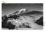 Bizarre Landscape Bolivia Black And White Carry-all Pouch