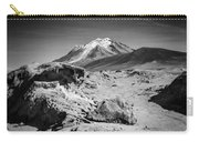Bizarre Landscape Bolivia Black And White Select Focus Carry-all Pouch