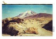 Bizarre Landscape Bolivia Old Postcard Carry-all Pouch
