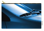 Black And Blue Cars Carry-all Pouch by Carlos Caetano
