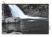 Black And Color Waterfall Carry-all Pouch