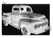 Black And White 1951 Ford F-1 Pickup Truck  Carry-all Pouch