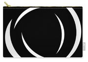 Black And White Art - 104 Carry-all Pouch