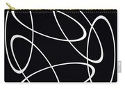 Black And White Art - 147 Carry-all Pouch