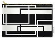 Black And White Art - 151 Carry-all Pouch