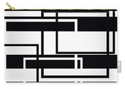 Black And White Art - 152 Carry-all Pouch