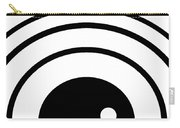 Black And White Art 167 Carry-all Pouch