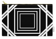 Black And White Art 174 Carry-all Pouch