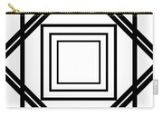 Black And White Art 175 Carry-all Pouch