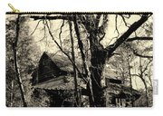 Black And White Barn Carry-all Pouch