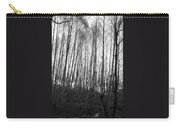 Black And White Birch Stand Carry-all Pouch