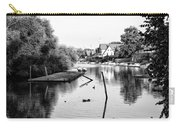 Black And White - Boathouse Row Carry-all Pouch
