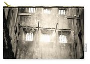 Black And White Bodmin Jail Carry-all Pouch