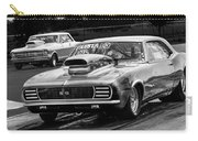 Black And White Chevy Camaro Ss Hotrod Carry-all Pouch