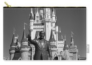 Black And White Disney And Mickey Carry-all Pouch