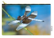 Black And White Dragonfly Carry-all Pouch