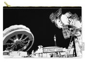 Black And White Festival Night Carry-all Pouch