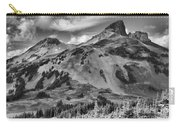Black And White Garibaldi Black Tusk Carry-all Pouch