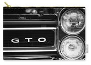 Black And White Gto Carry-all Pouch