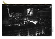 Black And White In Vegas Carry-all Pouch