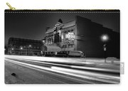 Black And White Light Painting Old City Prime Carry-all Pouch
