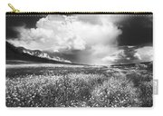 Black And White Meadow Carry-all Pouch