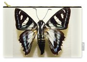 Black And White Moth Carry-all Pouch