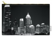 Black And White Night In Atlanta Carry-all Pouch