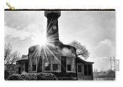 Black And White Philadelphia - Turtle Rock Lighthouse Carry-all Pouch