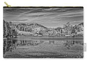 Black And White Photo Of Long Pond Acadia National Park Maine Carry-all Pouch