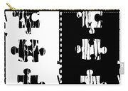 Black And White Puzzles Digital Painting Carry-all Pouch