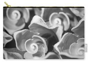 Black And White Sea Shells Cozumel Carry-all Pouch