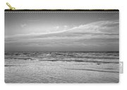 Black And White Seascape Carry-all Pouch