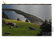 Black And White Sheep - Romeo The Ram Carry-all Pouch