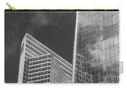 Black And White Skyscrapers Carry-all Pouch