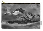 Black And White Tantalus Storms Carry-all Pouch