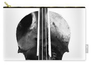 Black And White Violin Art By Sharon Cummings Carry-all Pouch