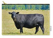 Black Angus Cattle Carry-all Pouch