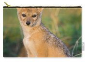 Black-backed Jackal Canis Mesomelas Carry-all Pouch