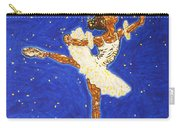 Black Ballerina Carry-all Pouch