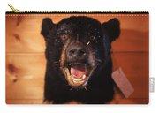 Black Bear Head Carry-all Pouch