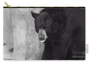 Black Bear Pose Carry-all Pouch