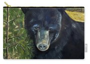Bear Painting - Scruffy - Profile Cropped Carry-all Pouch