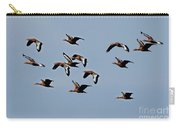 Black-bellied Whistling Ducks In Flight Carry-all Pouch