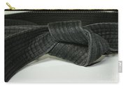 Black Belt Carry-all Pouch by Paul Ward