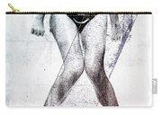 Black Bikini Carry-all Pouch
