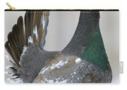 Black-billed Capercaillie Displaying Carry-all Pouch