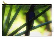 Black Bird Palm Carry-all Pouch