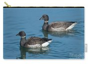 Black Brant Pair Swimming Carry-all Pouch