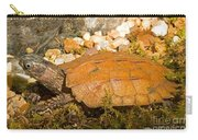 Black Breasted Leaf Turtle Carry-all Pouch